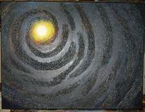 Abstrakt, Preis vh, Sonne, Acrylmalerei