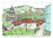 Universität, Stadtansicht, Architektur, Thüringen