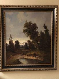 Natur, Landschaft, Malerei, Pinnwand