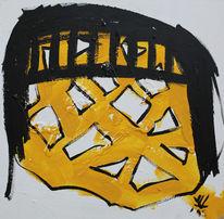 Vincent van volkmer, Van volkmer, Gelb, Gemälde