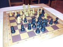 Figur, Fotografie, Schach