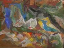 Abstrakt, Wild, Abstrakter expressionismus, Abstrakte malerei