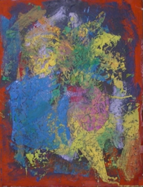 Abstrakt, Abstrakte malerei, Abstrakter expressionismus, Acrylmalerei gouache