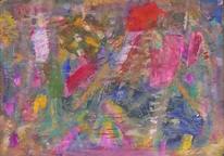 Bunt, Abstrakte malerei, Abstrakter expressionismus, Malerei