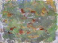 Informel, Abstrakte malerei, Kleckse als form, Malerei