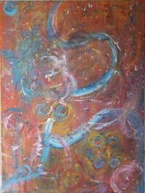 Ausschließlich, Malen, Meine hände, Schaumstoffpinsel