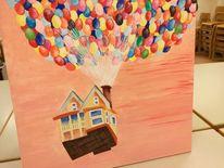 Ballon, Kinderfilm, Oben, Malerei