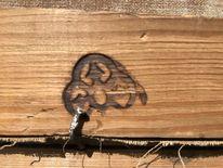 Pinnwand, Rahmen, Rückseite, Symbol