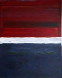 Expressionismus, Malerei, Blau, Modern