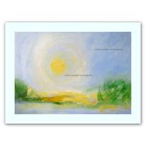 Druck, Landschaft, Malerei, Natur