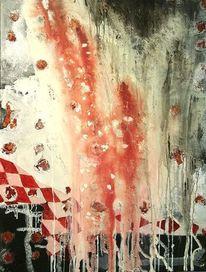 Acrylmalerei, Mischtechnik, Abstrakt, Natur