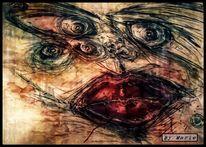 Fotografie, Aquarellmalerei, Abstrakt, Modern art