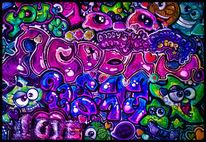 Malerei, Fantasie, Digital, Farben