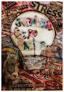 Malerei, Leben, Illustrationen