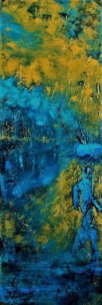 Blau, Wasser, Gold, Menschen