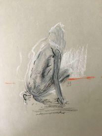 Modern, Zeichnung, Menschen, Zeichnungen