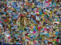 Collage, Ägypten, Bunt, Farben