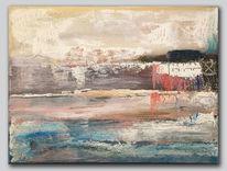 Landschaft, Abstrakt, Farben, Malerei acrylmalerei