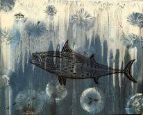 Tief, Qualle, Unterwasser, Fisch