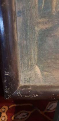 Jesus, Kind, Stall, Malerei