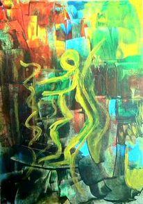Bunt, Seele, Frieden, Malerei