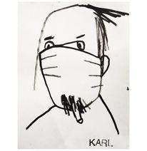 Menschen, Portrait, Malerei,