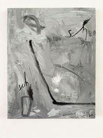 Abstrakt, Sch, Malerei,