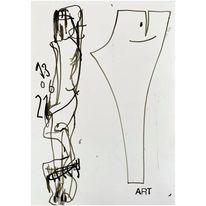 Zeichnung, Akt, Skizzenbuch, Skizze