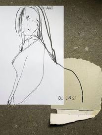 Zeichnung, Menschen, Skizze, Zeichnungen