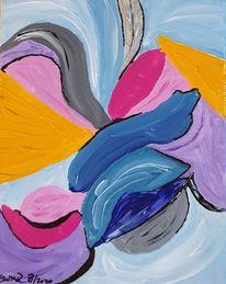 Fantasie, Farben, Malerei,
