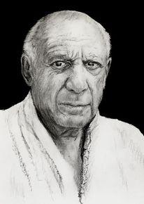 Gesicht, Portrait, Augen, Picasso