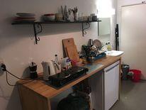 Pinnwand, Küche