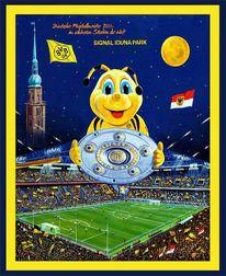 Fußball, Signal, Meisterschaft, Iduna