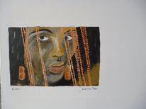 Acrylmalerei, Malerei, Sängerin, Jazz