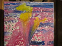 Farben, Modern art, Abstrakt, Mischtechnik
