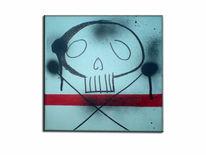Malerei, Graffiti, Tod, Edding