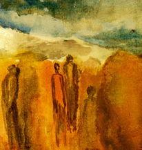Wüste, Malerei,