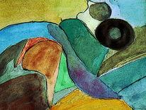 Abstrakt, Farben, Formen, Malerei
