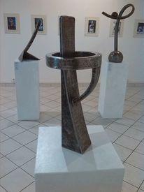 Skulptur, Objekt, Eisenplastik, Plastik