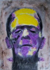 Frankenstein, Frankenstei, Franken, Malerei