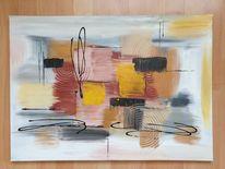 Acrylmalerei, Abstrakt, Modern, Malerei