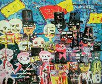 Garn, Acrylmalerei, Ölmalerei, Malerei