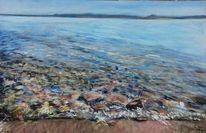 Wasser, Küste, Ostsee, Stein
