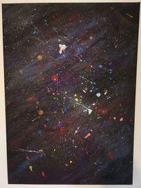 Acrylmalerei, Farben, Malerei