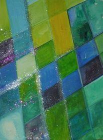 Meditation, Aquarellmalerei, Frisch, Aquarell