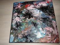Geschenk, Acrylmalerei, Wandbild, Abstrakt