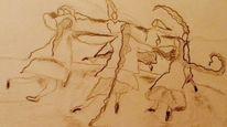Böse, Fee, Tanzez, Zeichnungen
