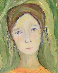 Augen, Grün, Malerei