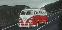 Vw bulli, Moderne bilder, Vw cabrio, Wald