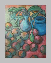 Pflanzen, Apfel, Modern, Tisch